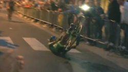 Le maillot vert du Tour de France voulait frimer, sauf