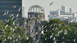 Hiroshima: les cloches ont sonné 70 ans après le bombardement