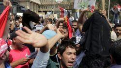 Des irakiens manifestent contre la mauvaise qualité de l'eau et les coupures de
