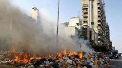 Pour leurs ordures, les Libanais font appel à la célèbre société de taxi