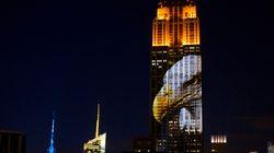 L'Empire State Building s'illumine pour les animaux en danger