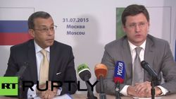 Energie: l'Algérie et la Russie veulent booster leur