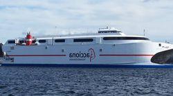 Marhaba 2015: En pleine opération de transit, un navire immobilisé en