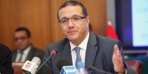 Le ministre de l'Economie et des finances, Mohamed