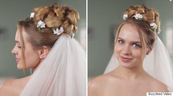 Voici 50 ans de coiffures de mariage en moins de deux minutes