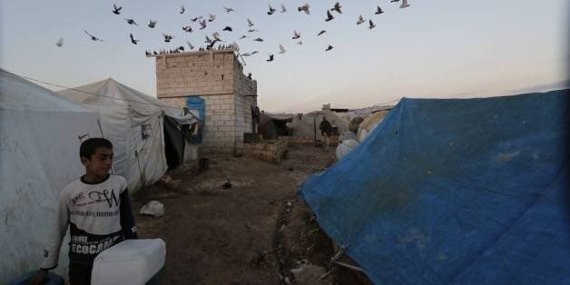 Syrie: comment les camps de réfugiés sont devenus de véritables petites