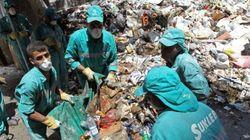 Les déchets ramassés à Beyrouth après une semaine de
