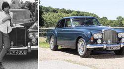 La Bentley du trip des Rolling Stones au Maroc mise aux enchères