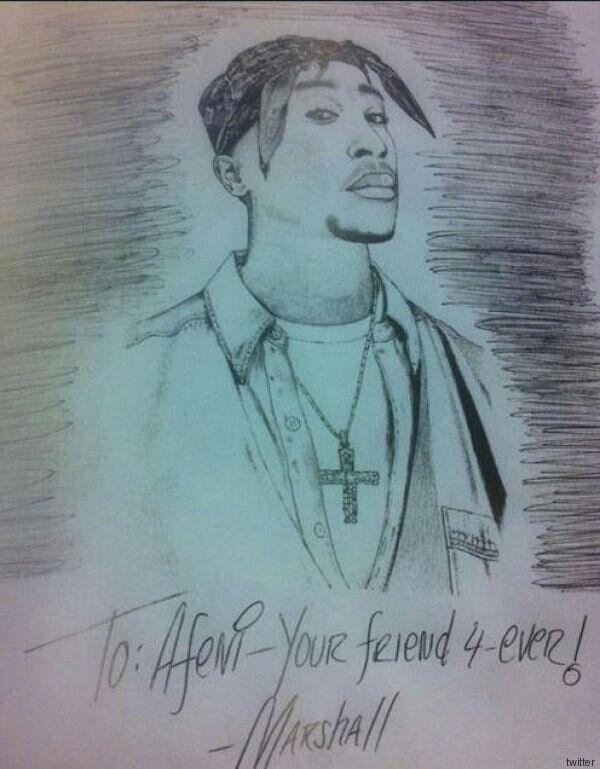 Eminem rend hommage à Tupac dans une lettre adressée à sa mère