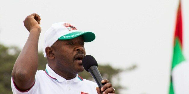 Le président du Burundi Pierre
