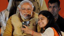 En Inde, les pères font des selfies avec leurs filles contre le