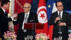Béji Caïd Essebsi et François Hollande expriment