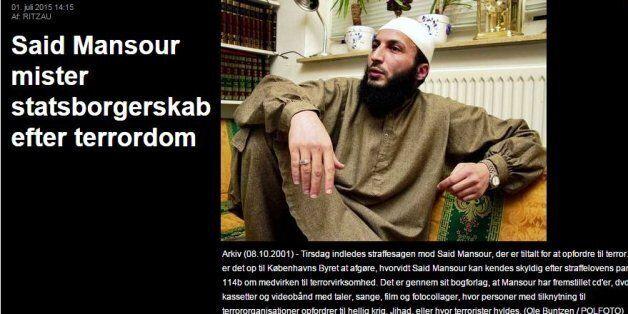 Un djihadiste dano-marocain déchu de sa nationalité