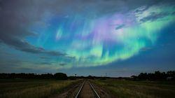 De splendides aurores boréales ont accueilli l'été au Canada