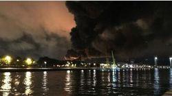 Francia, enorme incendio in impianto chimico ad alto rischio. Suonano sirene di