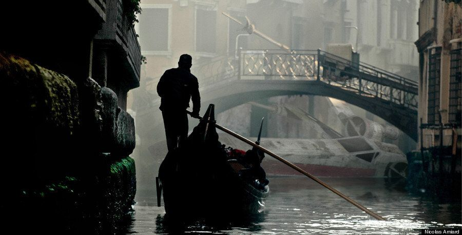 Des vaisseaux de Star Wars dans nos villes: La série de photos fascinante de Nicolas Amiard