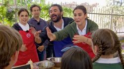El Sevilla y Vicky Martín Berrocal pierden los papeles ante niños en 'MasterChef