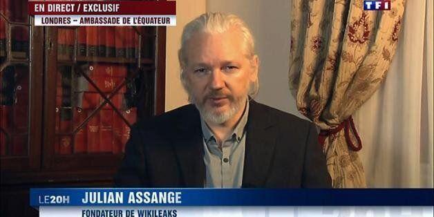 Wikileaks: Julian Assange demande l'asile à la France, refus de