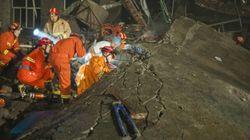 Chine: onze morts dans l'effondrement d'une
