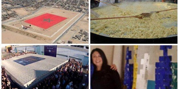 Record: Une Marocaine s'apprête à réaliser une toile de 100 mètres carrés