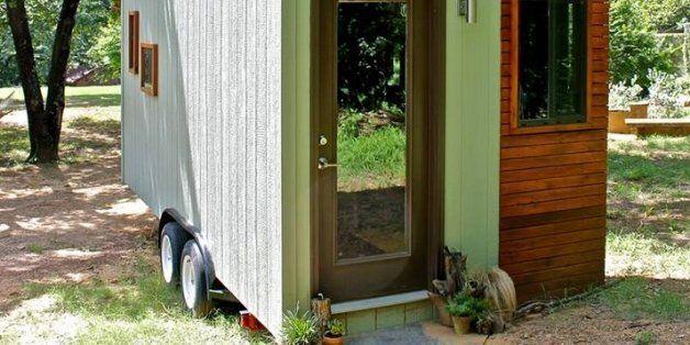 Une petite maison de 13,5 mètres carrés construite par un étudiant qui voulait vivre sans dettes