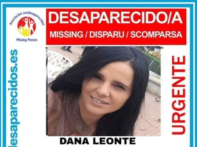 Imagen de Dana, desaparecida desde