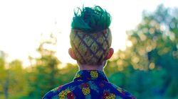 Les cheveux de cet étudiant ont conquis Internet