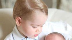 La princesse Charlotte prend la pose avec son frère