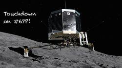 Le robot Philae, endormi sur la comète Tchouri, s'est