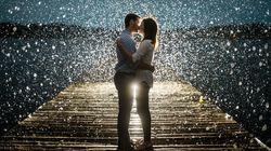 Le mauvais temps n'aura pas gâché les fiançailles de ces couples