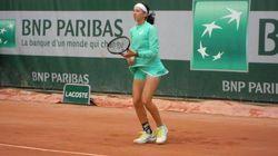 Tennis: Inès Ibbou s'incline en double à