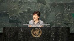 Pyongyang accuse la présidente sud-coréenne d'être une