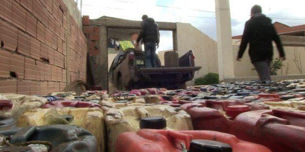 Tunisie: Sur la route de la contrebande d'essence à la frontière