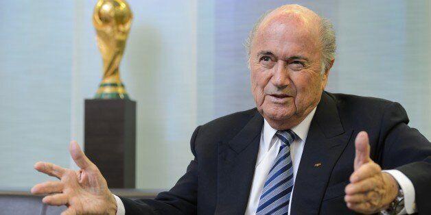 Sepp Blatter, président de la