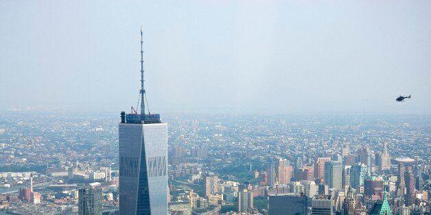 Freedom Tower érigé à la place du World Trade