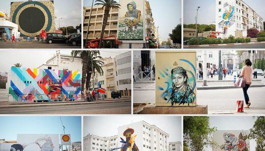 Street Art: Rabat haut en