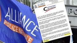 Le syndicat Alliance avait qualifié des manifestants de