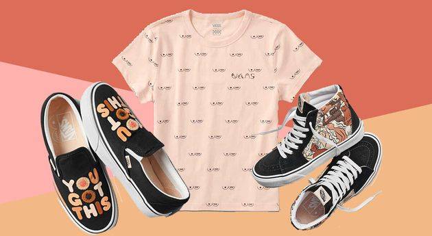 Vans Partners With CoppaFeel! To Launch Boob-Covered Collection – And We Want It All