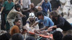 L'armé syrienne lance des barils d'explosifs sur des régions contrôlées par des