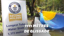 Le plus grand toboggan aquatique du monde ouvre en