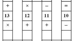 Si vous parvenez à résoudre ce puzzle mathématique, vous êtes un