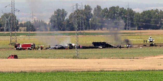 Un avion militaire A400M s'écrase près de Séville, au moins 3 morts