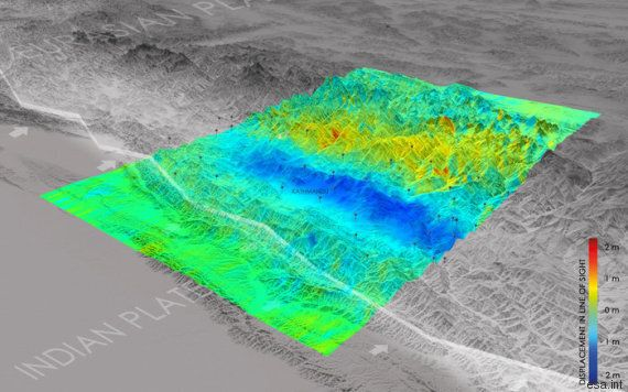Le mont Everest a perdu 2,5 cm après le séisme au