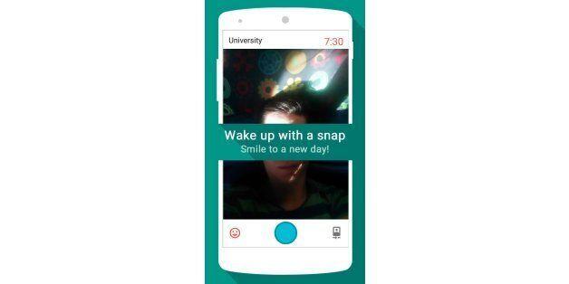 Cette application vous propose de vous réveiller en