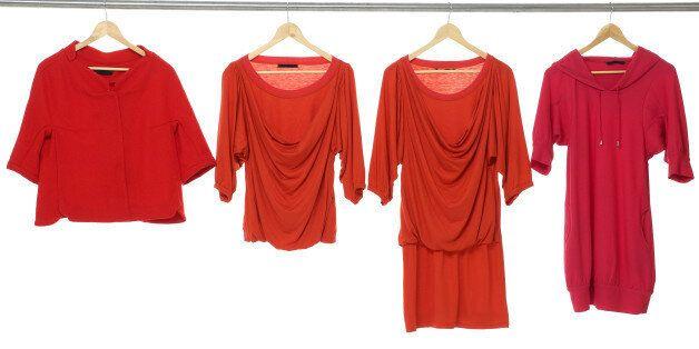 fashion female red