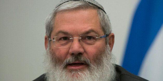 Israël: un rabbin d'origine marocaine au ministère de la