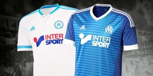Olympique de Marseille: les maillots de la saison 2015-2016