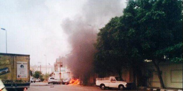 Arabie: une ville frontalière touchée par des obus de rebelles