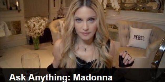 Madonna, à propos de son baiser avec