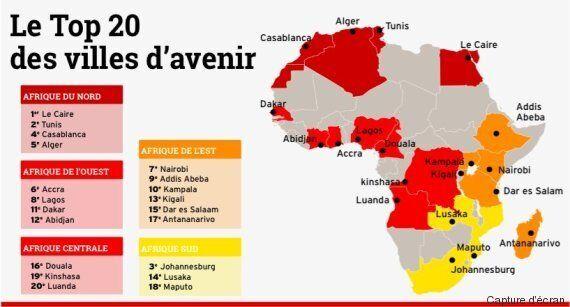Alger 5e ville d'avenir du continent africain, derrière Tunis et Casablanca